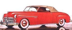 1949 Dodge Wafarer Convertible